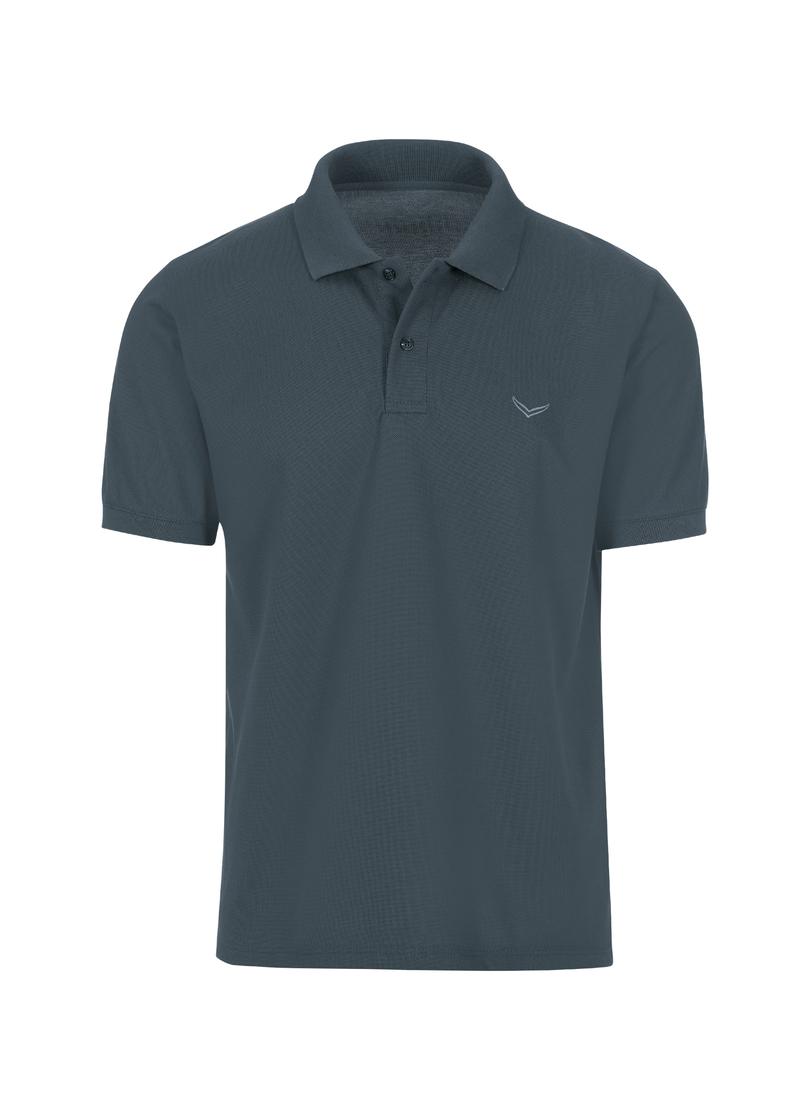 TRIGEMA Poloshirt DELUXE Piqué | Bekleidung > Shirts > Poloshirts | Grau | Baumwolle | Trigema