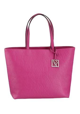 ARMANI EXCHANGE Shopper, mit hochwertiger Logo Prägung im Material kaufen