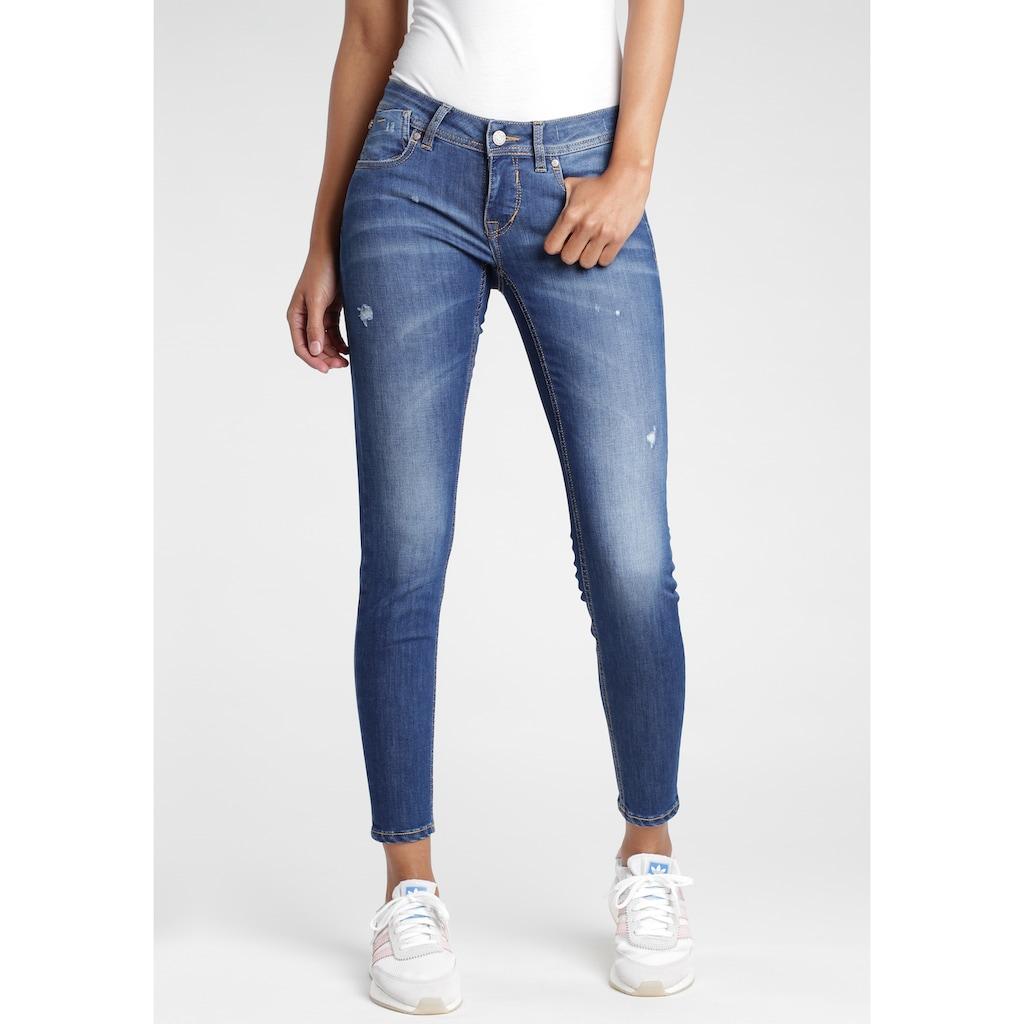 GANG Skinny-fit-Jeans, mit Destroyed-Effekten