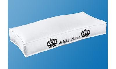 Kunstfaserkopfkissen, »Kunstfaserkopfkissen«, Hanse by RIBECO, Füllung: 100% Polyester, Bezug: 100% Baumwolle kaufen