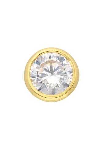 Adelia´s Kettenanhänger »333 Gold Anhänger mit Zirkonia Ø 7 mm« kaufen