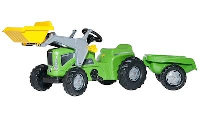 ROLLY TOYS Tretfahrzeug »Futura«, Traktor mit Trailer und Lader kaufen