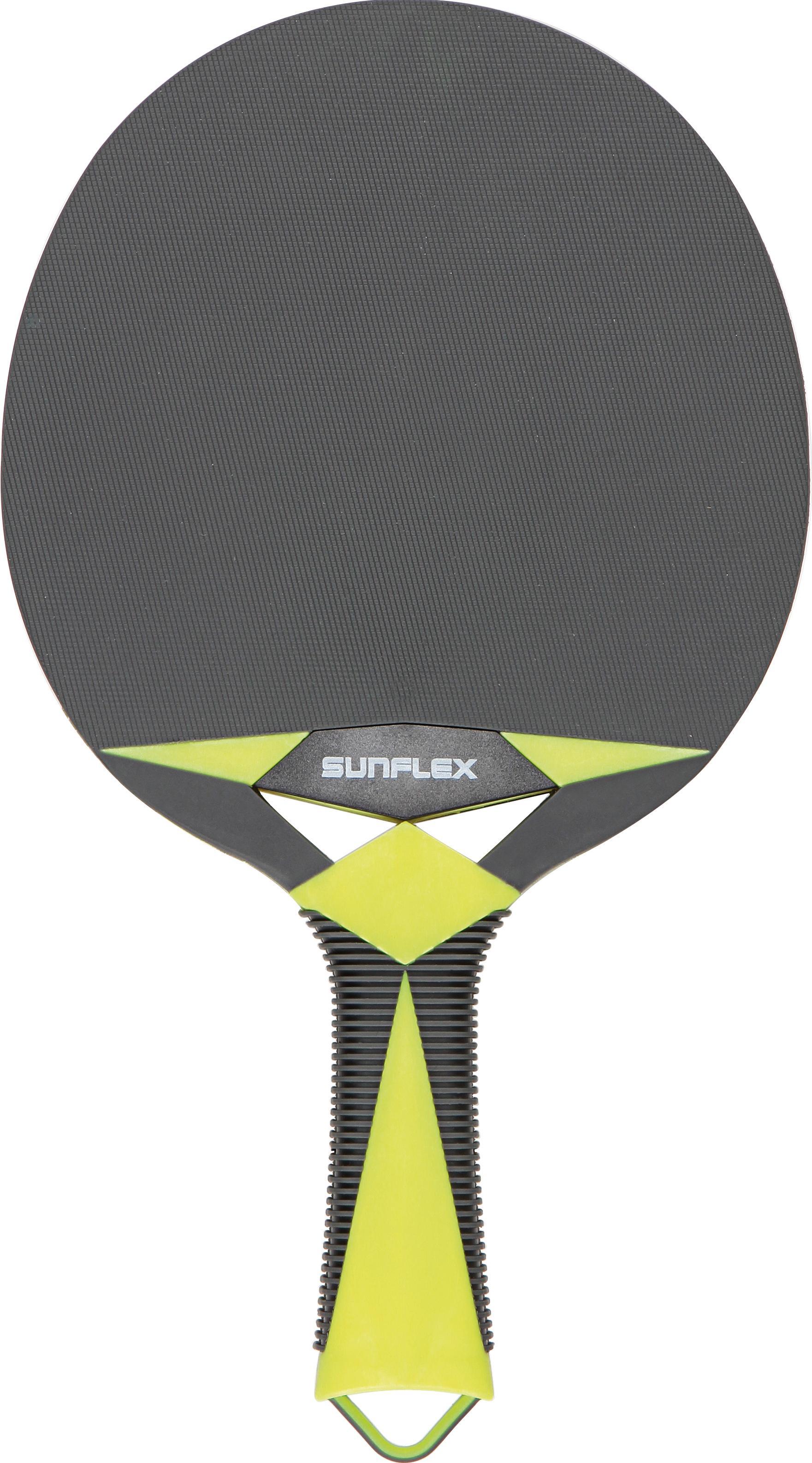 Sunflex Tischtennisschläger Outdoor Schläger Zircon Technik & Freizeit/Sport & Freizeit/Sportarten/Tischtennis/Tischtennis-Ausrüstung