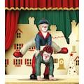 Gildeclowns Sammelfigur »Clown Dekofigur, Der Bocksprung«, handbemalt, Wohnzimmer