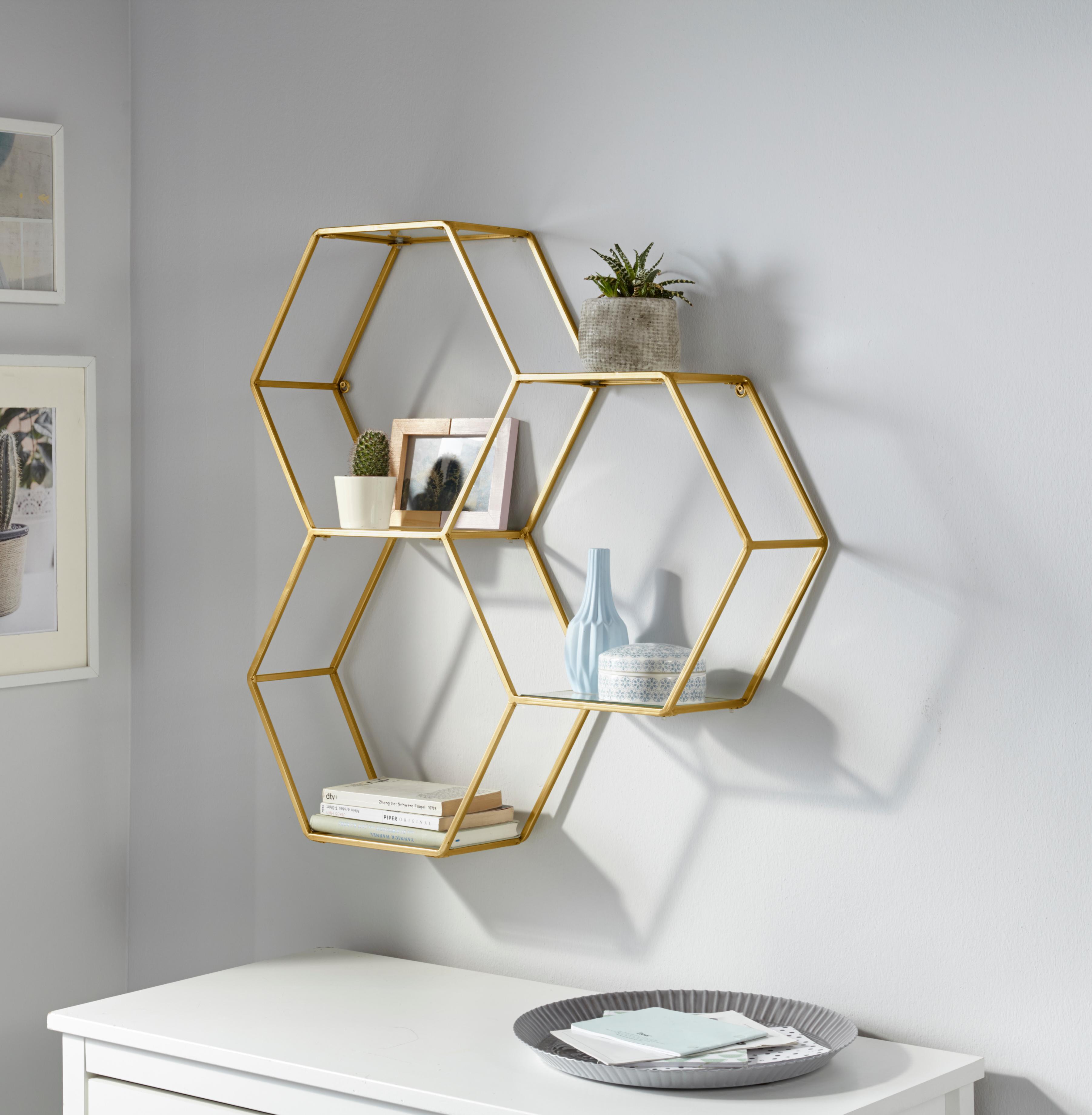 Leonique Wandregal Hexagon Kaufen Baur