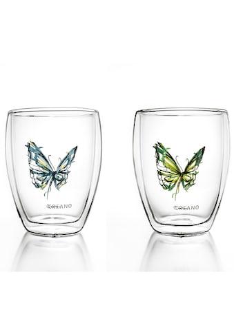 "Creano Gläser - Set ""Schmetterling"" (2 - tlg.) kaufen"