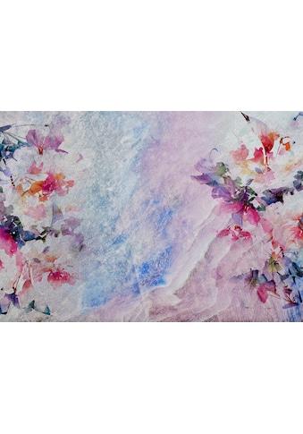 Consalnet Vliestapete »Marmor Optik mit Blumen«, floral kaufen