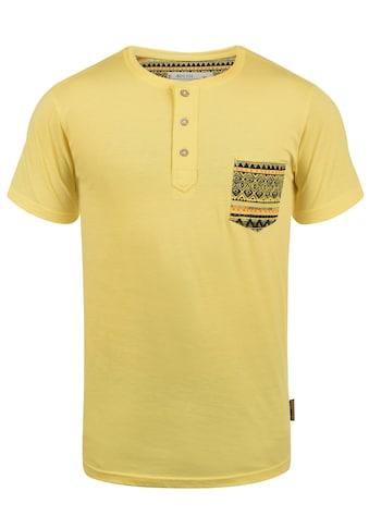 Indicode Rundhalsshirt »Art«, Kurzarmshirt mit Brusttasche kaufen
