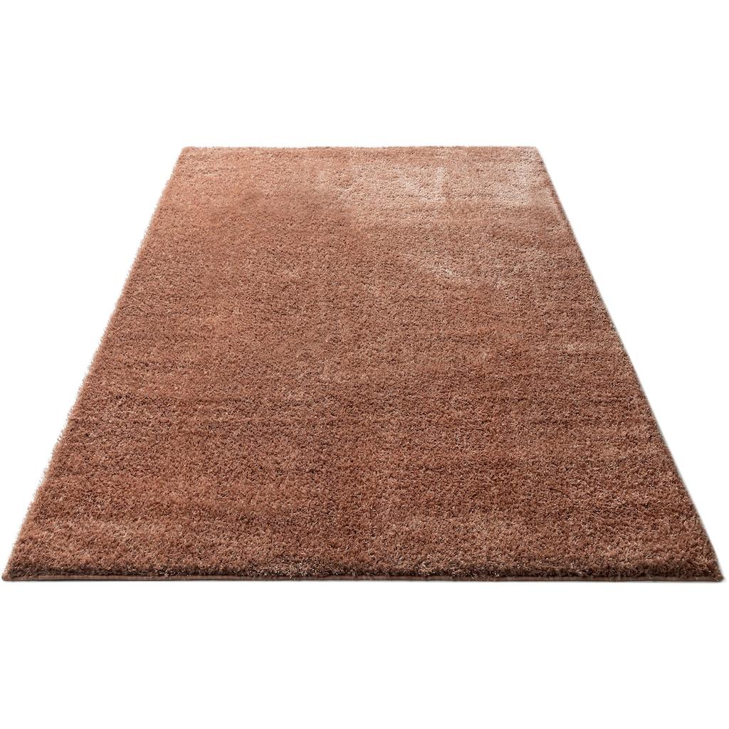 COUCH♥ Hochflor-Teppich »Auslegungssache«, rechteckig, 30 mm Höhe, besonders weich durch Microfaser, COUCH Lieblingsstücke, Wohnzimmer