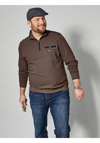 Men Plus by HAPPYsize Spezialschnitt Sweatshirt kaufen
