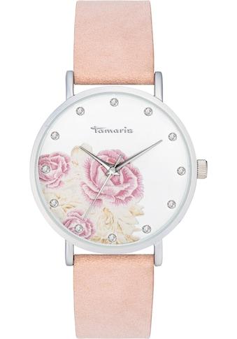 Tamaris Quarzuhr »Alva flower1, TW035« kaufen