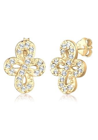 Elli Paar Ohrhänger »Infinity Endless Swarovski® Kristalle 925 Silber« kaufen