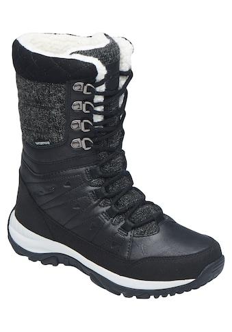 MOLS Stiefel »Bakan Waterproof«, mit Details in Leder- und Filzoptik kaufen