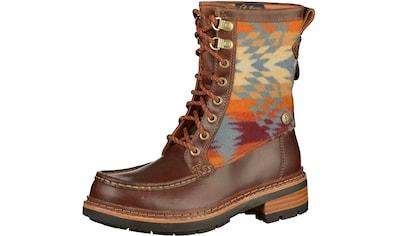 Clarks Schnürstiefelette »Leder/Textil« kaufen