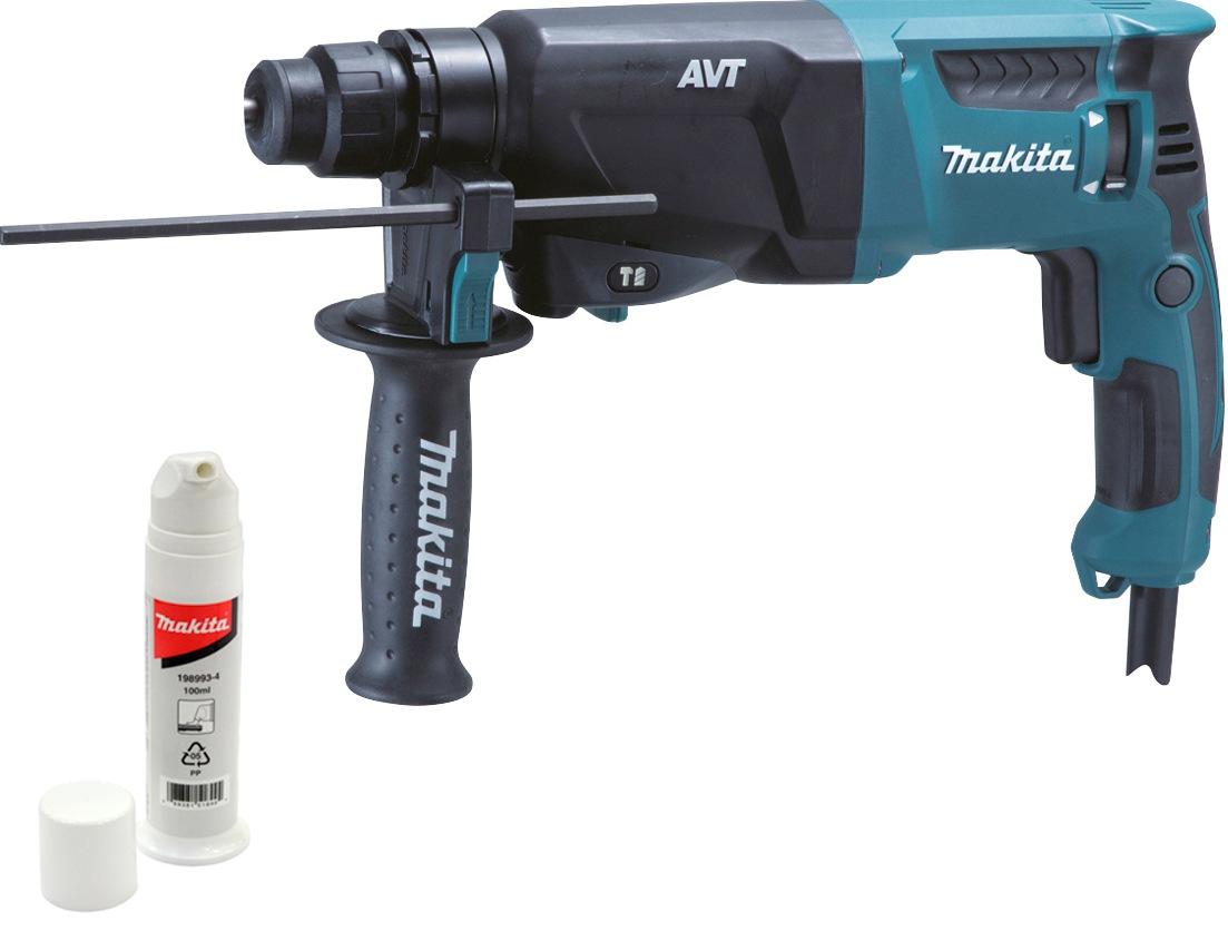 Makita Bohrhammer HR2601J blau Profi-Werkzeug Werkzeug Maschinen