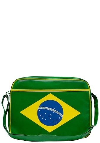 LOGOSHIRT Tasche mit Ordem e progresso - Frontprint »Brazil  -  ordem e progresso« kaufen