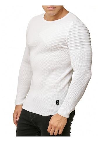 RedBridge Strickpullover »Amarillo«, mit raffiniertem Schulterdetail kaufen
