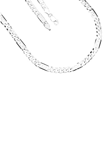 Firetti Silberkette »Glanz, 2 - fach diamantiert, langes Kettenglied mit Mäanderdesign« kaufen
