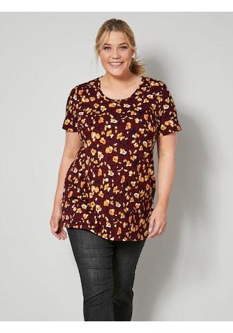 Janet & Joyce T-Shirt, aus reiner Baumwolle kaufen