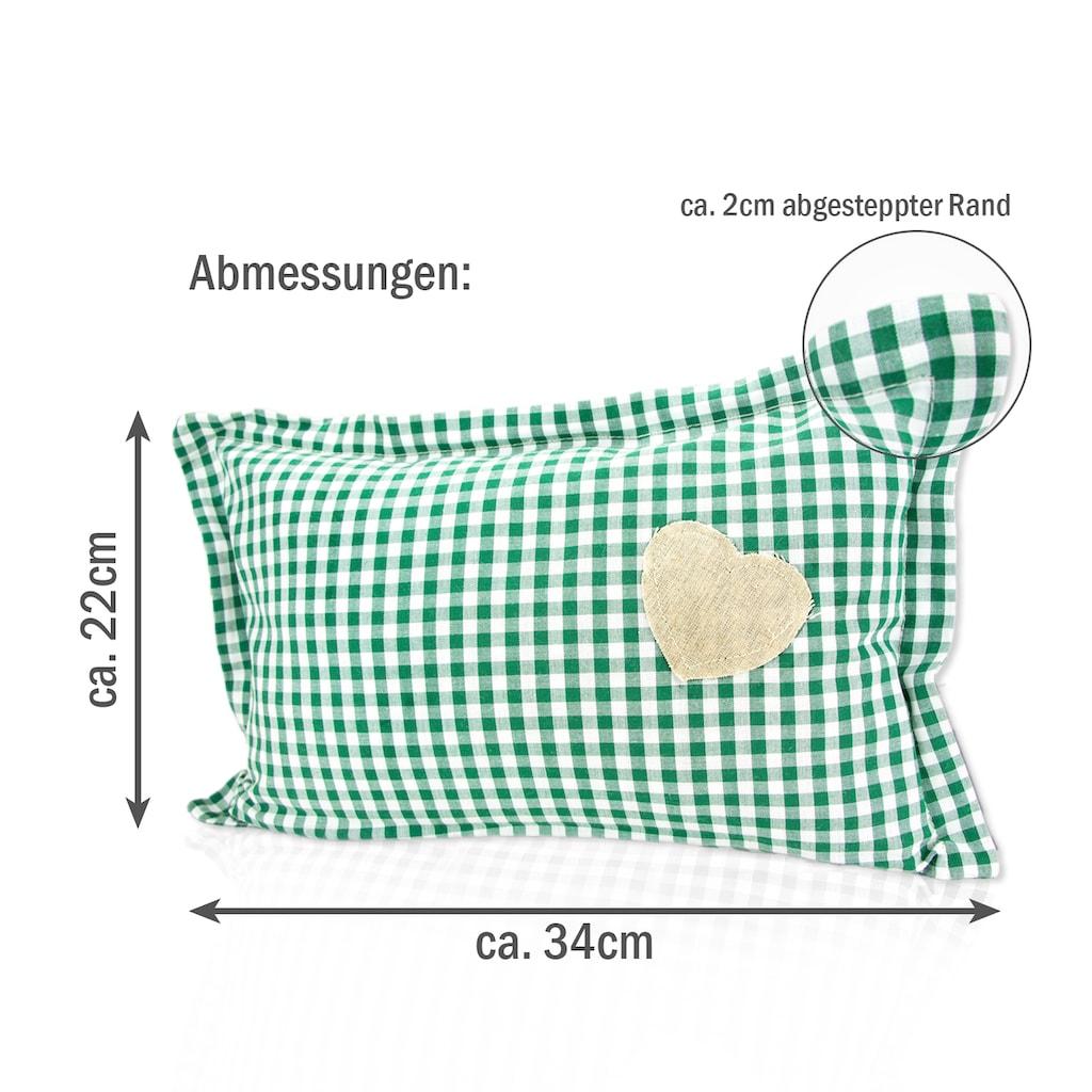 Zirbelino Duftkissen »Zirbenduftkissen«, Füllung: 100% Zirbenspäne, Bezug: 100% Baumwolle, (1 St.), mit reinen Zirbenspänen gefüllt - Made in Austria