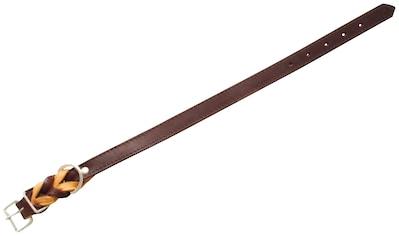 HEIM Hundehalsband »Zugspitze«, braun, Länge: 32 - 65 cm kaufen