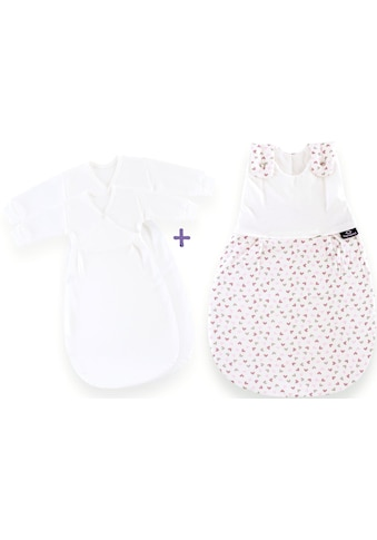 Träumeland Babyschlafsack »Set Herz rosa« ((Packung, 3 - tlg., 3er - Pack)) kaufen