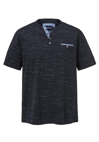 Babista Henleyshirt in Flammgarn - Optik kaufen