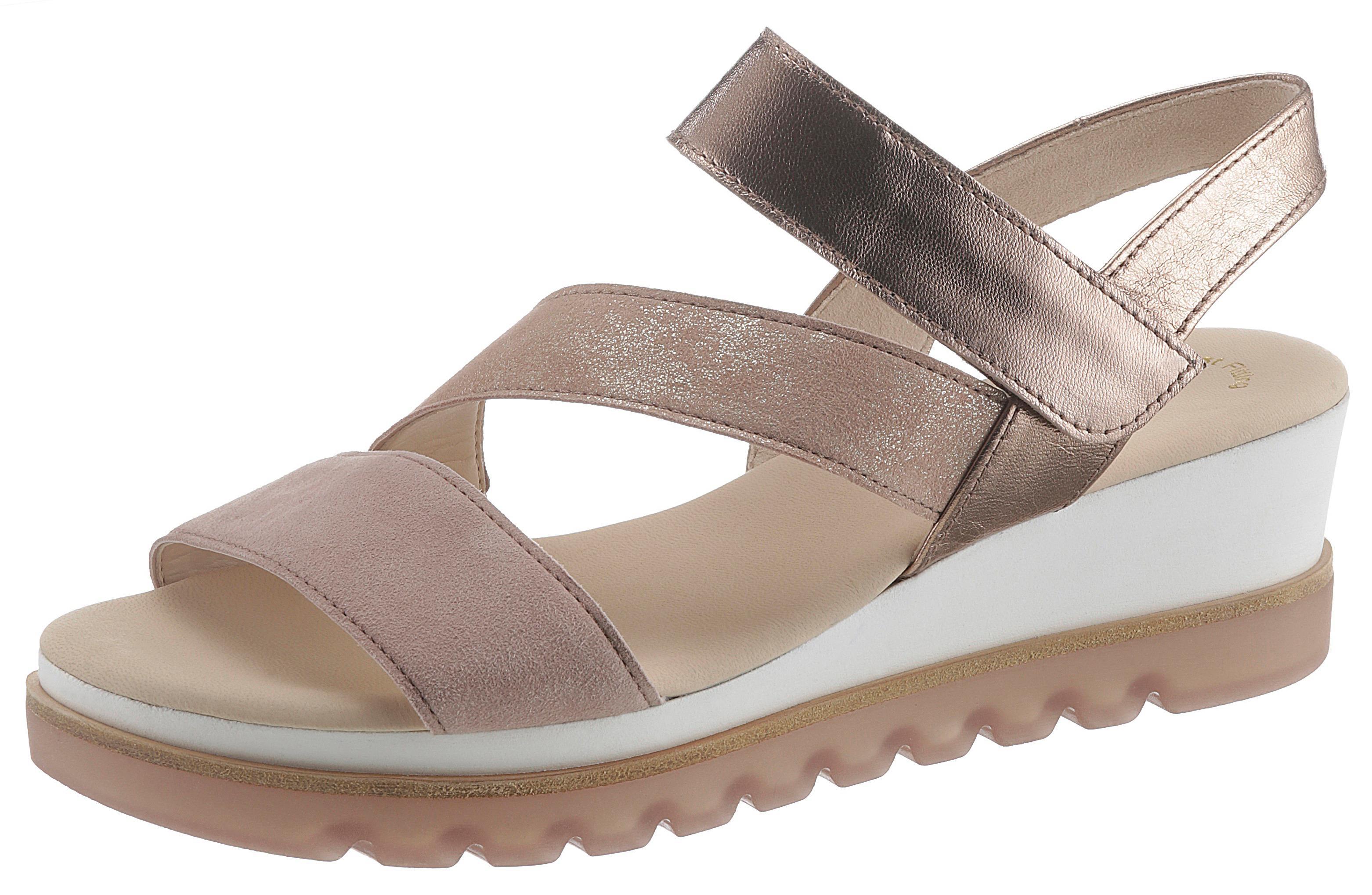 erstaunlicher Preis Sonderangebot Bestpreis Details zu Riemchensandale Damen Elegante Sandaletten Schuhe Gabor Sandalen  Gepolsterte