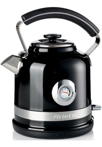 Ariete Wasserkocher »2854BK moderna«, 1,7 l, 2200 W kaufen
