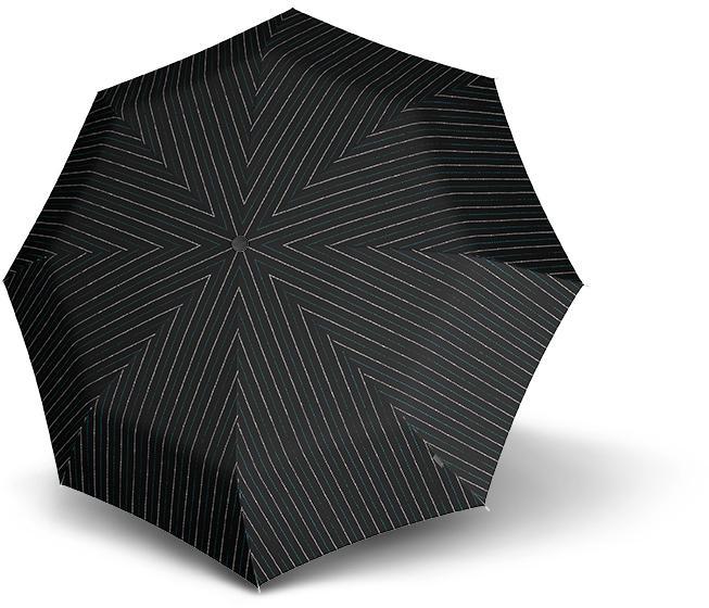 Knirps Taschenregenschirm ´´T200 Medium Duomatic´´   Accessoires > Regenschirme > Sonstige Regenschirme   Schwarz   Knirps
