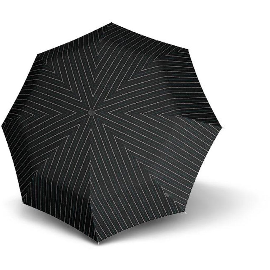 Knirps® Taschenregenschirm »T.200 Medium Duomatic, Baker Street Aqua«