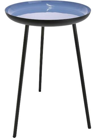 GILDE Beistelltisch »Tisch Celeste«, Dreibein, Höhe 49 cm, rund, Ø 28 cm, aus Metall,... kaufen