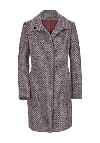 Ambria Mantel mit breitem Kragen kaufen