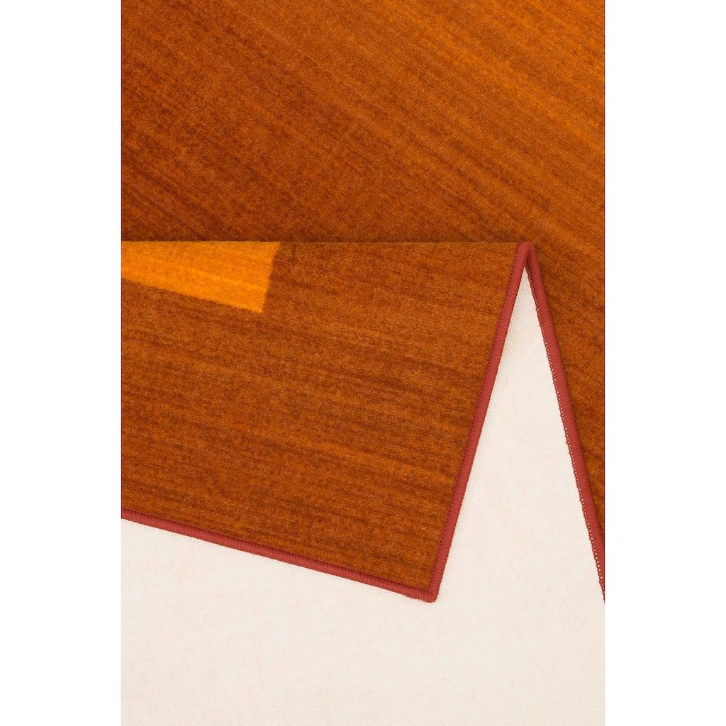 THEKO Teppich »Gabbeh Ideal«, rechteckig, 6 mm Höhe, mit Bordüre