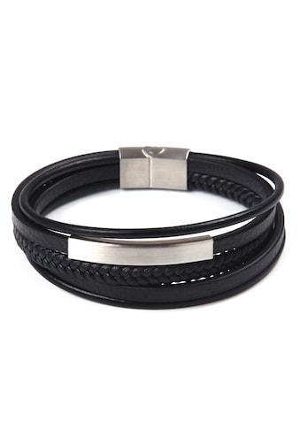 J.Jayz Armband »im sportlich-eleganten Stil, mehrreihig« kaufen