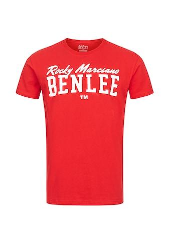 Benlee Rocky Marciano T-Shirt »LOGO«, mit großem Frontprint kaufen