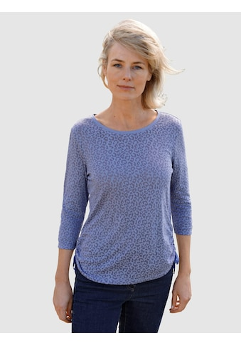 Dress In 3/4-Arm-Shirt, mit tollem Leo-Design kaufen