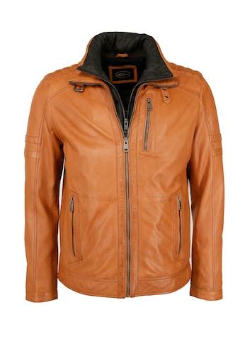 JCC Lederjacke »63535«, Bikerlederjacke mit doppeltem Kragen kaufen