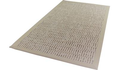 Dekowe Teppich »Naturino Struktur«, rechteckig, 8 mm Höhe, Flachgewebe, Sisal-Optik, mit Bordüre, In- und Outdoor geeignet, Wohnzimmer kaufen