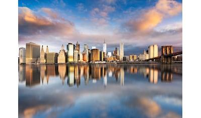 PAPERMOON Fototapete »Manhattan Sunrise«, Vlies, in verschiedenen Größen kaufen