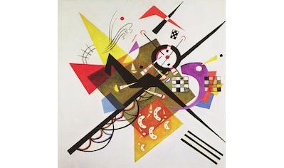my home Deco-Panel »W. KANDINSKY / On White II«, (70/3/70 cm) kaufen