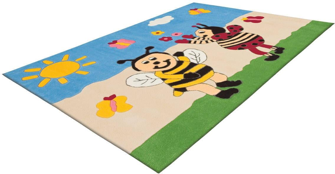 Arte Espina Kinderteppich Joy 4091, rechteckig, 16 mm Höhe bunt Kinder Bunte Kinderteppiche Teppiche