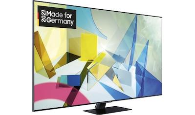 "Samsung QLED-Fernseher »GQ49Q80T«, 123 cm/49 "", 4K Ultra HD, Smart-TV kaufen"