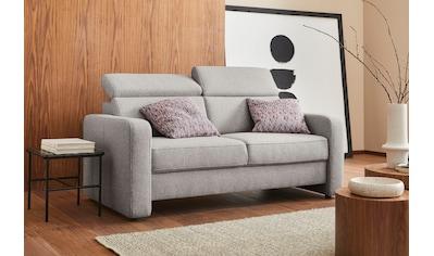 sit&more 2,5-Sitzer »Bologna«, inklusive Kopfteilverstellung und Federkern kaufen