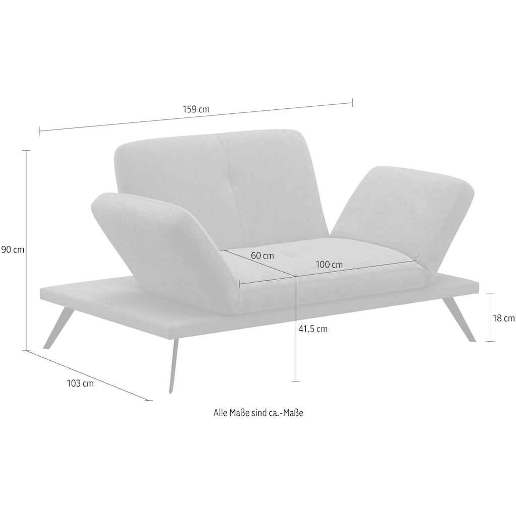 machalke® 2-Sitzer »wings«