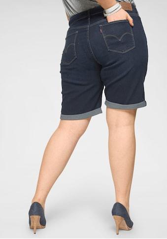 Levi's® Plus Jeansbermudas »Shaping Bermudas« kaufen