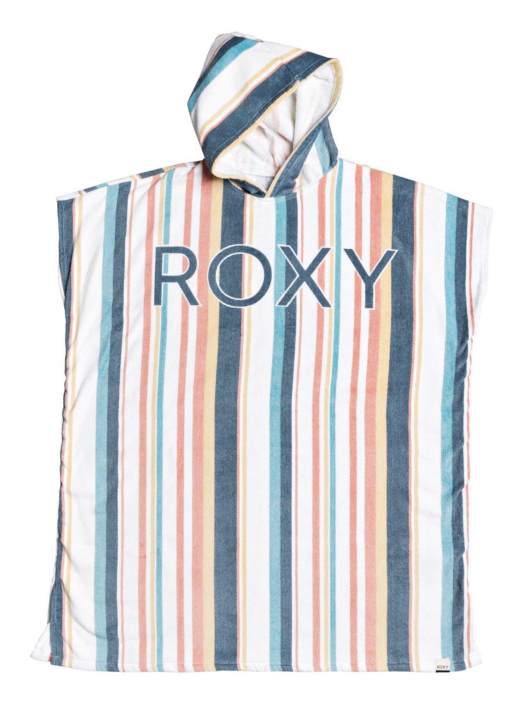 Roxy Fleeceponcho Beach Freaks | Bekleidung > Pullover > Ponchos & Capes | Weiß | Roxy