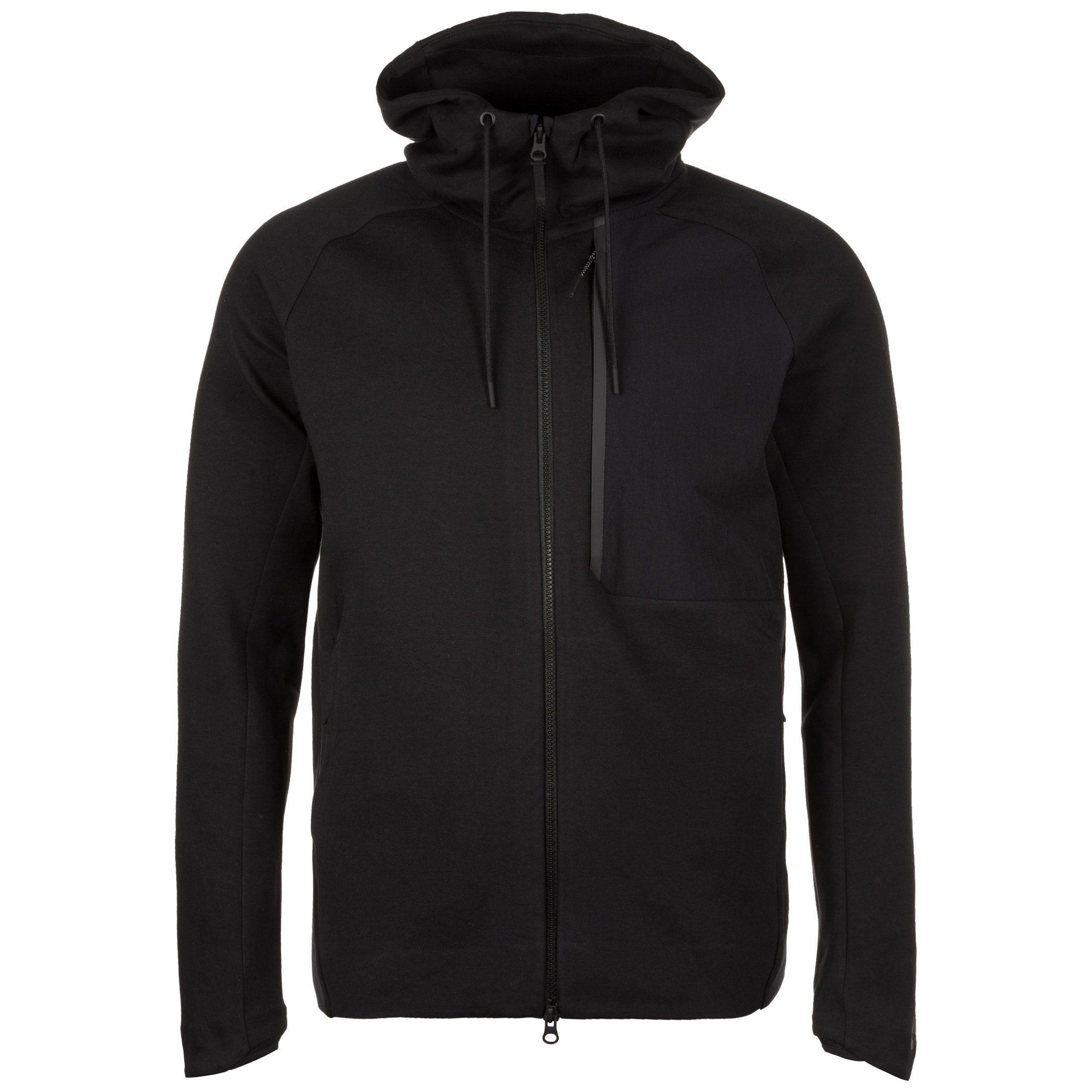 Nike Sportswear Kapuzensweatjacke »Tech Fleece« | Sportbekleidung > Sportjacken > Sonstige Sportjacken | Schwarz | Fleece | Nike Sportswear