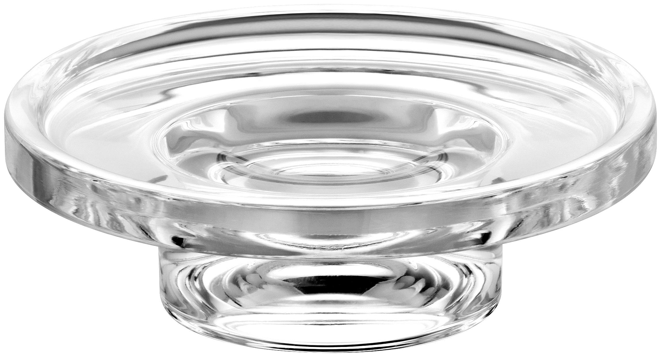 Keuco Seifenschale, Echtkristall-Glas, lose farblos Seifenschalen Badaccessoires Badmöbel Seifenschale