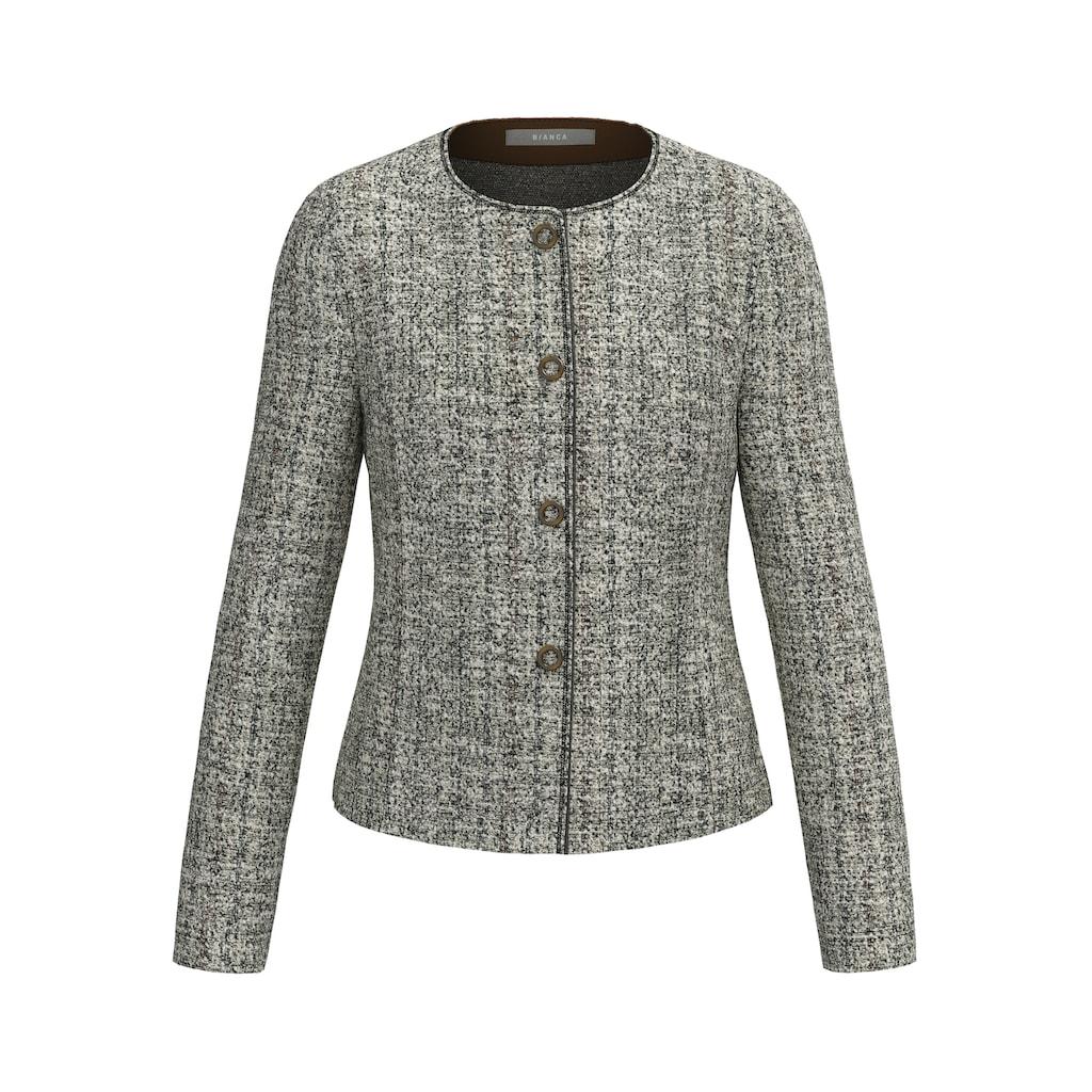 bianca Kurzjacke »FARAH«, in cooler Tweed-Optik